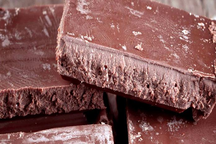 chocolate com fat bloom