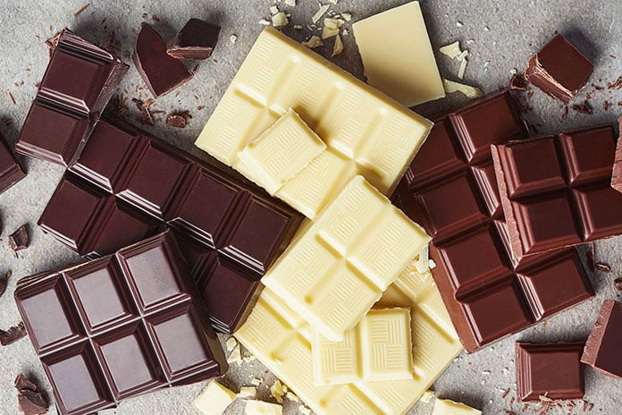 como armazenar chocolate